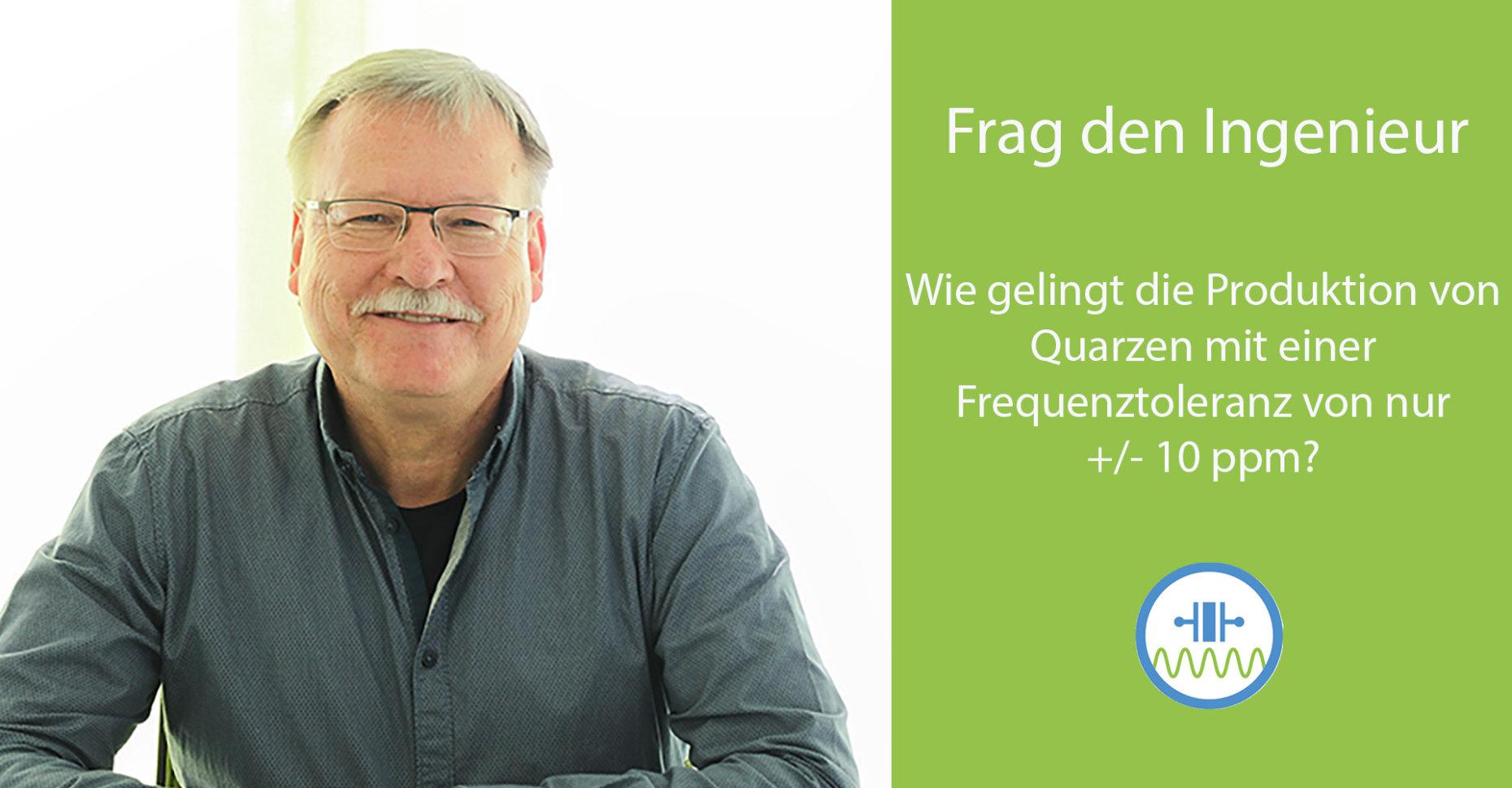 Christian Büchler, Head of Technical Support, bei Jauch Quartz