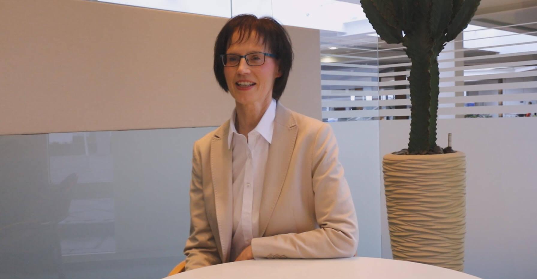Sonja Jäckle, Leiterin der Jauch-Personalabteilung