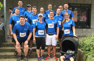 Das Jauch-Team beim Villinger Stadtlauf 2019