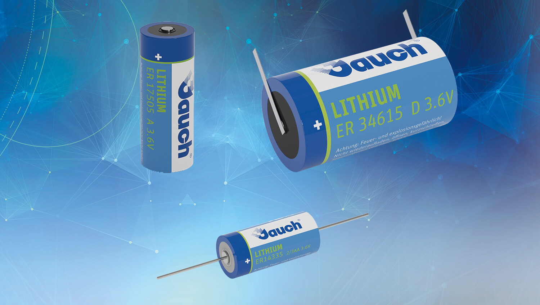 """Lithium-Thionylchlorid-Batterien der Marke """"Jauch"""""""