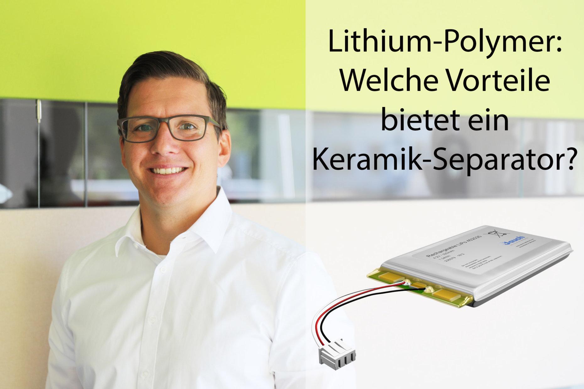 Viktor Sichwardt, Jauch-Experte für Lithium-Polymer Batterien