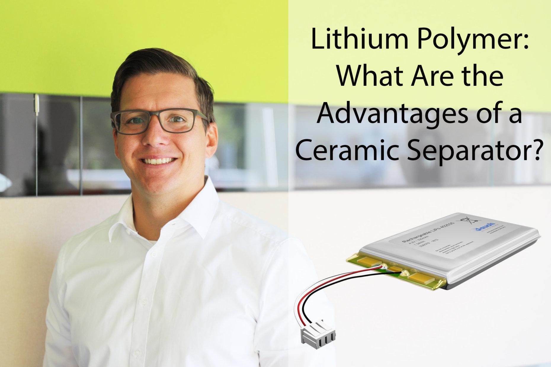 Viktor Sichwardt, Jauch-expert for lithium-polymer batteries