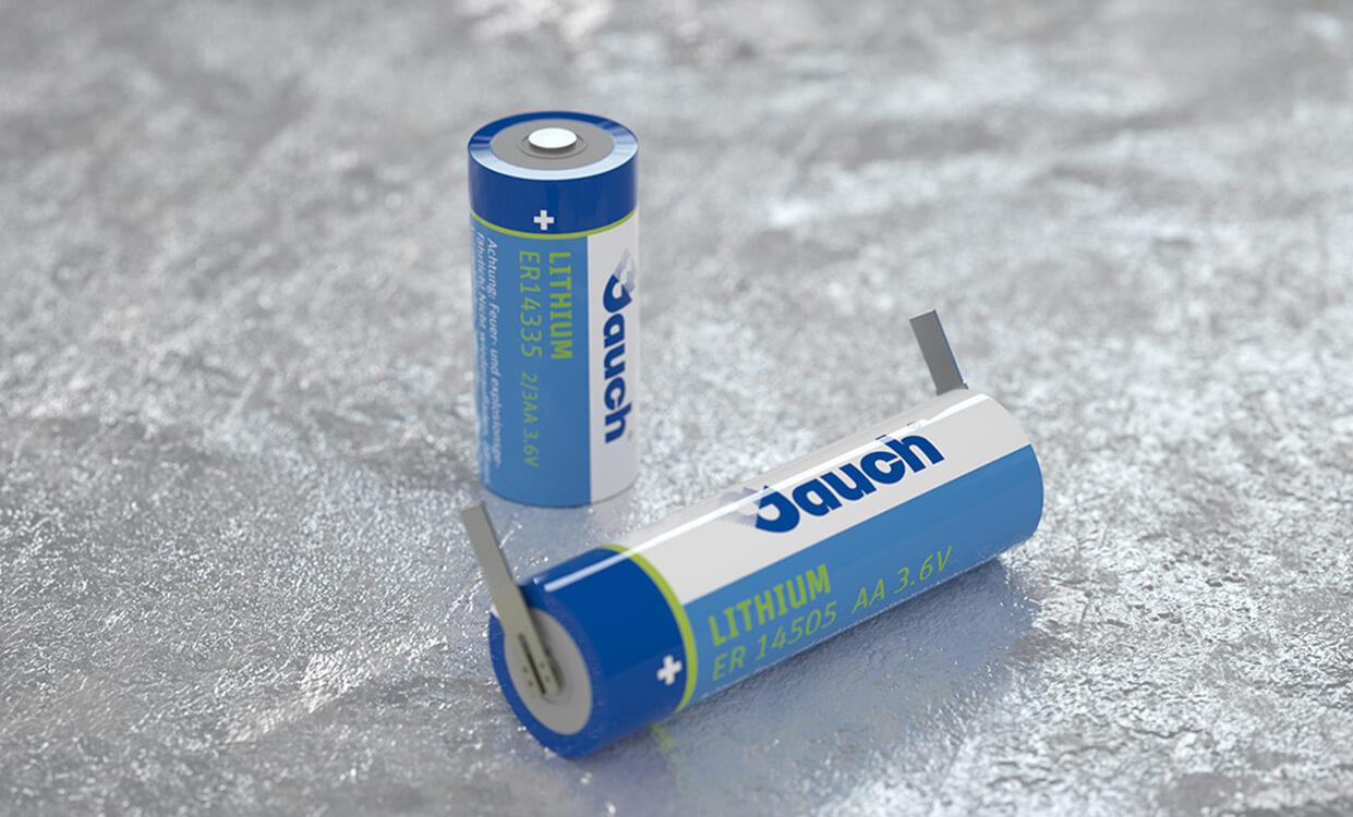 Lithium-Thionylchlorid Batterien von Jauch